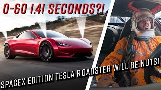 SpaceX rockets on the new Tesla Roadster?! Seriously!