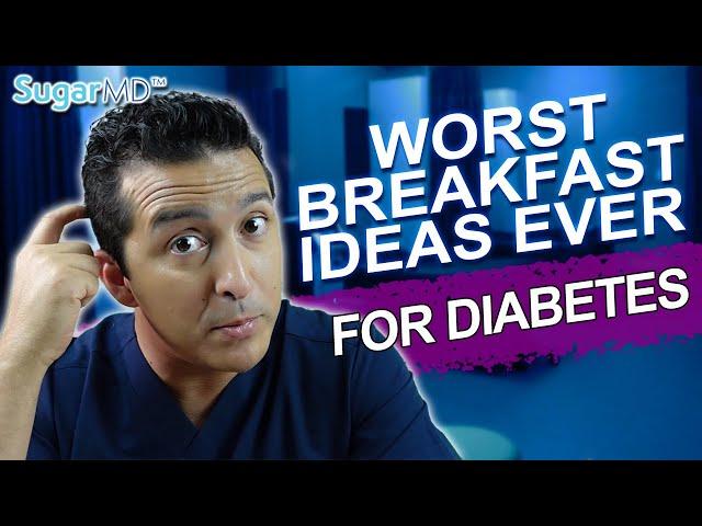 5 Breakfast Foods To Avoid That'll Skyrocket Blood Sugar! Diet Tips!