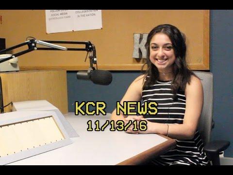 KCR College Radio News - 11/13/16