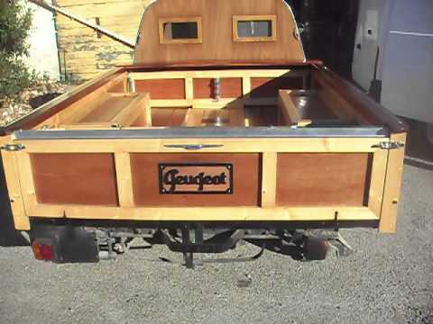 Exceptionnel Peugeot 403 pick up wood car - YouTube ML96