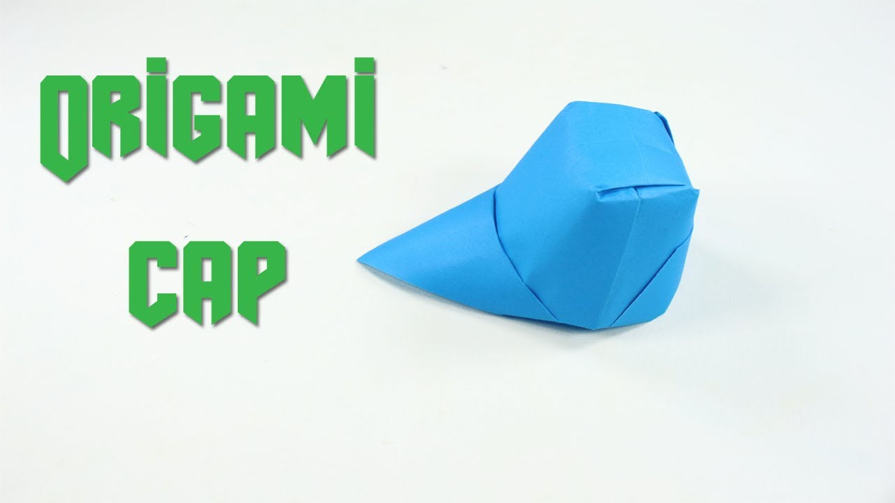 How To Make a Paper Hat - DIY Origami Cap Making Simple & Easy ... | 720x1280