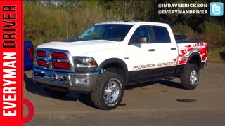 видео 2015 Ram 2500 Power Wagon 4x4 - Off Road And Track Review