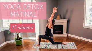 Routine de Yoga Détox du matin - 15 minutes (3/365)