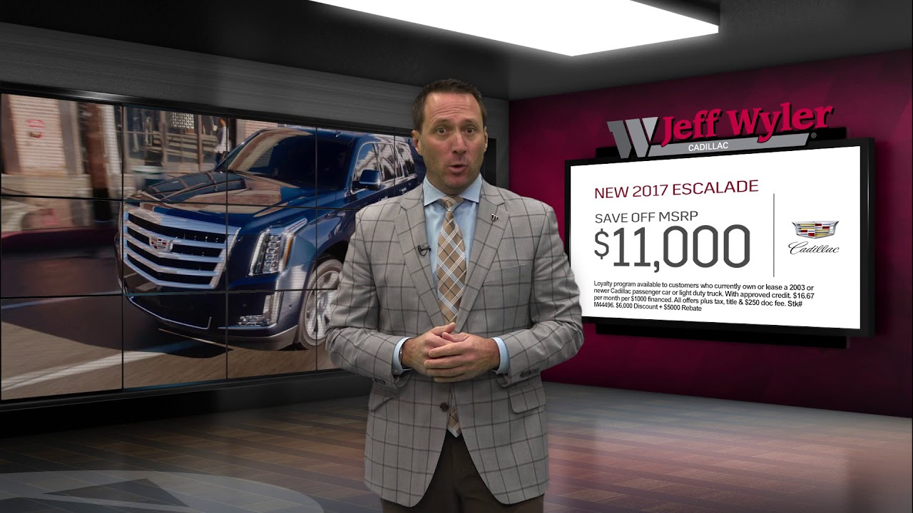 Jeff Wyler Fairfield Cadillac – So Many Ways To Save! - YouTube