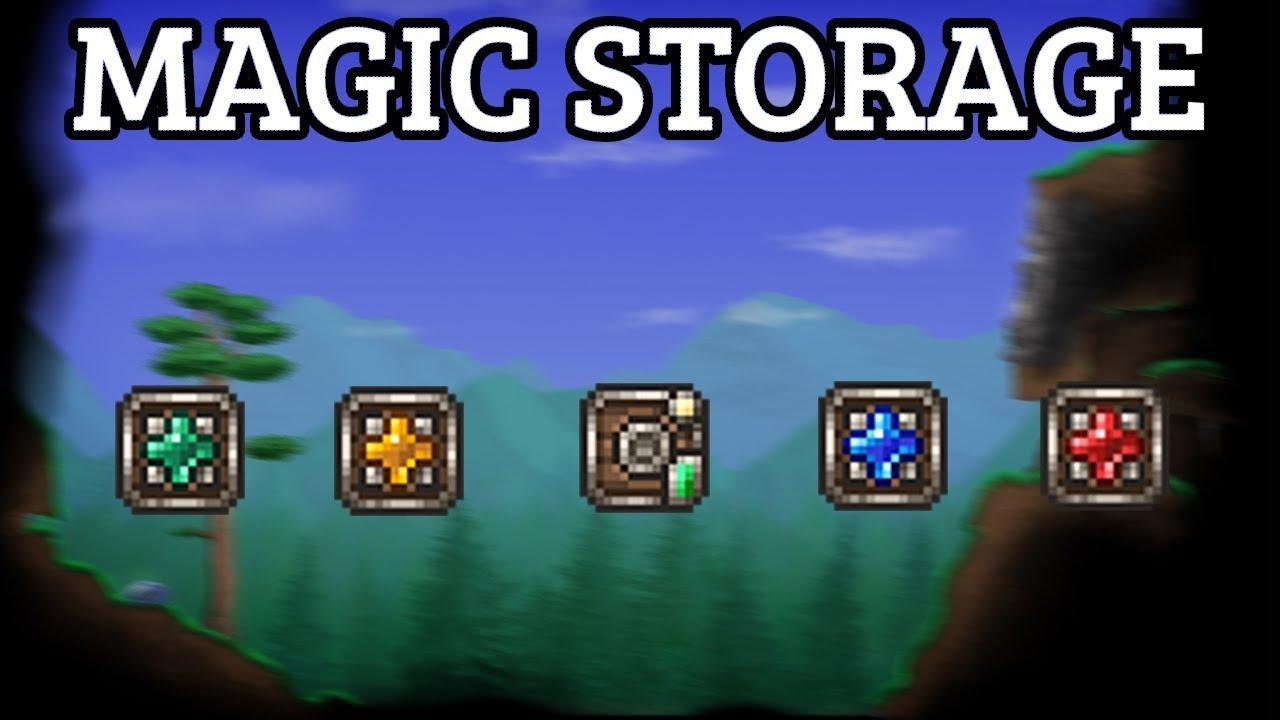 Znalezione obrazy dla zapytania magic storage mod
