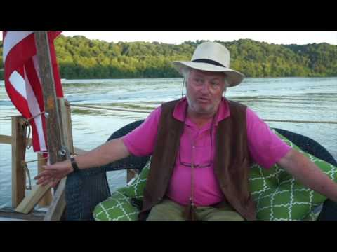 Flatboat Patience Interview Rinker Buck - YouTube