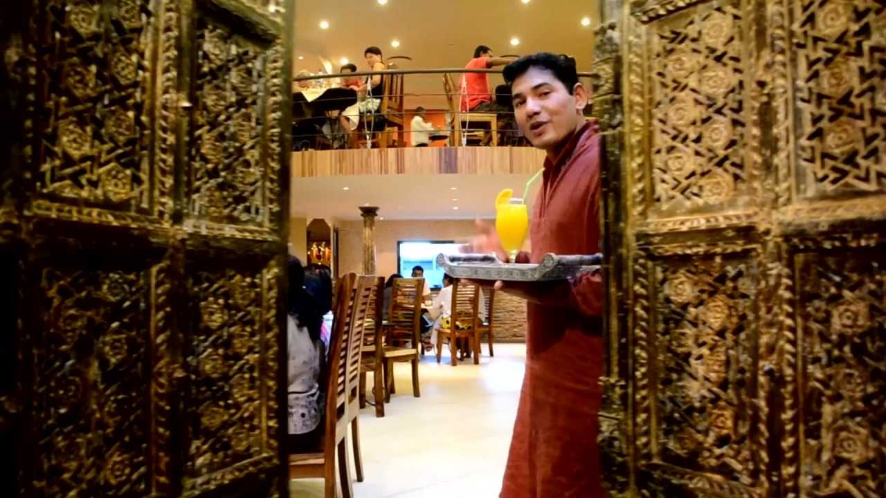 sitar indian restaurant at bagatelle mall of mauritius