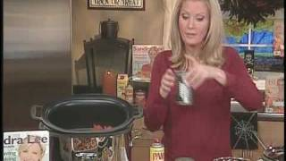 Food Network Star Sandra Lee - Halloween Slow-Cooker Recipes