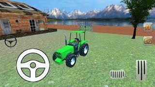 Tractor trolley Cargo transport 3D|हैंडल वाला ट्रैक्टर|ट्रैक्टर वाला गेम हैंडल वाला