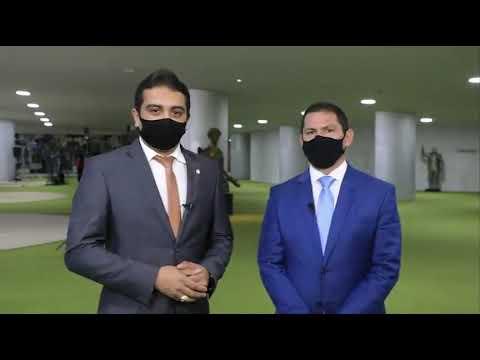 Fernando Rodolfo e Marcelo Ramos - Lei o rateio dos precatórios do FUNDEF.