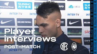 INTER 1-1 ATALANTA | LAUTARO + HANDANOVIC + SENSI EXCLUSIVE INTERVIEWS [SUB ENG]