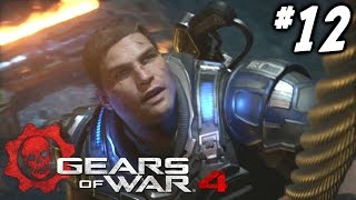 Gears of War 4 Campaign Walkthrough Part 12 - GET OUT! (Act 4 Chapter 1)