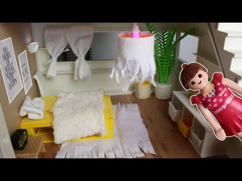 💛playmobil-luxusvilla---gästezimmer/schlafzimmer-roomtour---pimp-my-playmobil---familie-sonnenschein