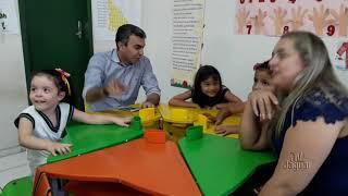 Prefeito Franzé Carneiro entrega equipamentos na creche de Antônio Pereira
