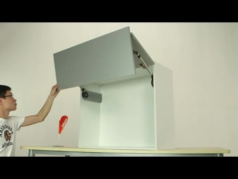 Bi Fold Kitchen Cabinet Doors Espresso Shaker Cabinets Door Wall Youtube