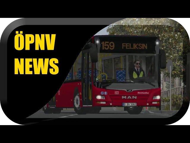 ÖPNV News #46 Omsi 2 Landkreis Saalekreis, Bad Hügelsdorf 2020 & TBS Patch 6 Beta