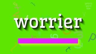 Download lagu How to sayworrier MP3