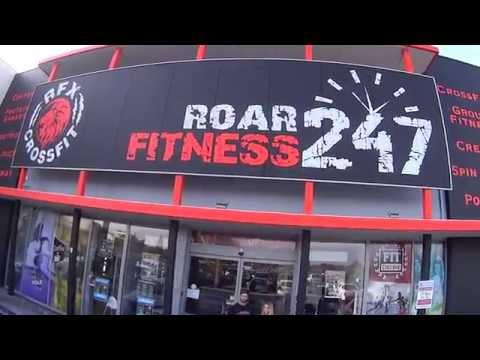 Roar Fitness 247 Walk Through Including RFID and QR Code Demo