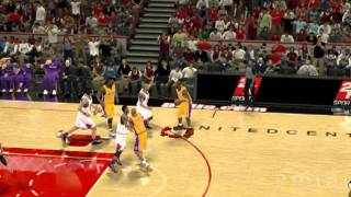 NBA 2K12 ON DUAL CORE PC (no one can stop kobe)