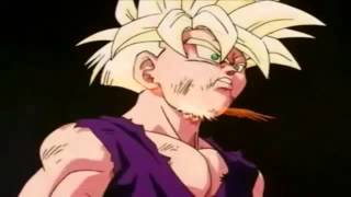 Dragon ball z | Gohan se transforma super saiyan fase 2