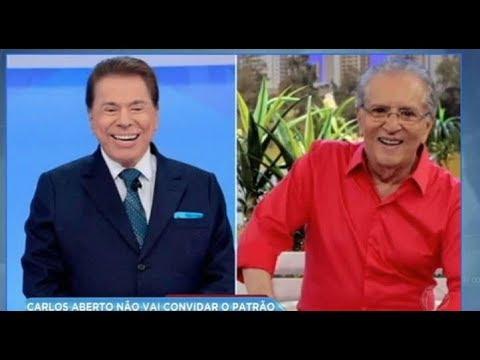 Hora da Venenosa: Carlos Alberto de Nóbrega não convida Silvio Santos para o casamento