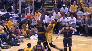 TOP 10 PLAYS OF THE WARRIORS AND CAVS SWEEPS - NBA Playoffs Highlights thumbnail