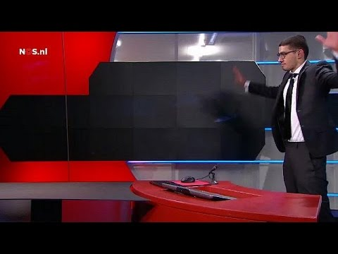 Ολλανδία: Άγνωστα τα κίνητρα του ενόπλου που εισέβαλε στη δημόσια τηλεόραση
