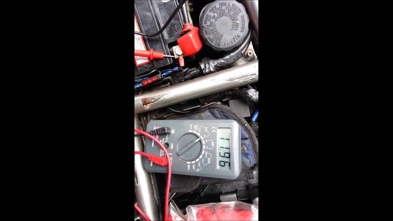 kawasaki versys / er6 charging problem