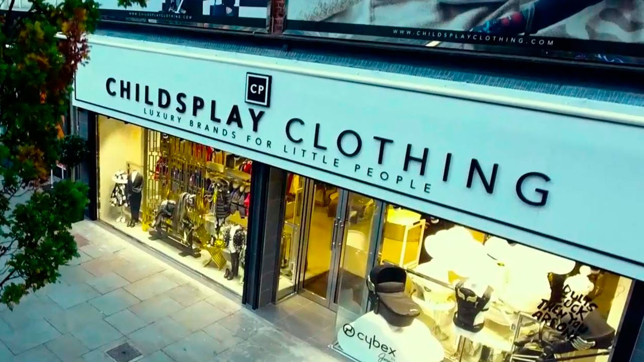 childs play clothing store