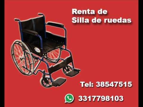 Renta de sillas de ruedas camas renta de muletas anaderas youtube - Alquiler de sillas de ruedas en valencia ...