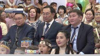 Глава Якутии прибыл с рабочим визитом в Томпонский район