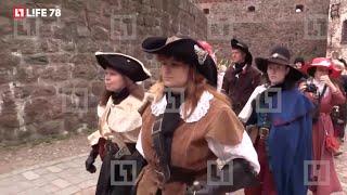 Необычная свадьба прошла в Выборгском замке