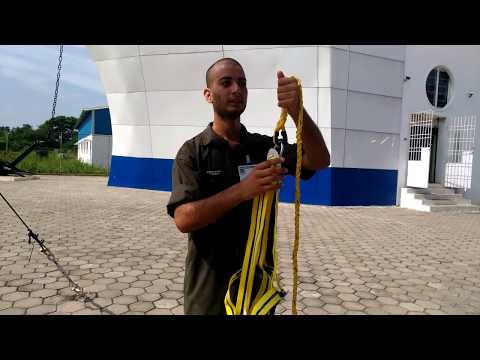 International Maritime Academy  Training Video   Wear safety harness DURGA