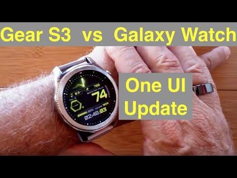 """Galaxy Gear S3 Smartwatch Now Better Than Samsung Galaxy Watch (46mm) After """"One UI"""" Firmware Update"""