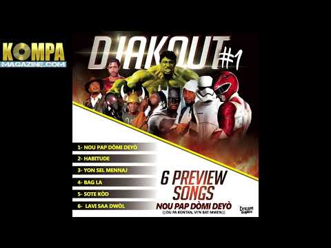 DJAKOUT #1: 6 SONG CD Teaser Preview of upcoming CD!