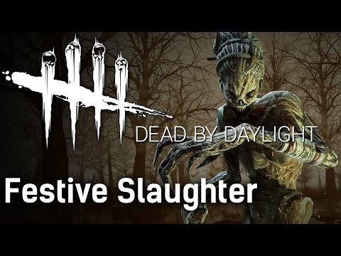 Festive Slaughter   Dead by Daylight Survivor with HybridPanda
