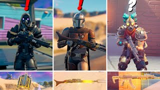 Fortnite All New Bosses, Mythic Weapons Guide in Fortnite Update Season 5 v15.00 (Boss Mandalorian)