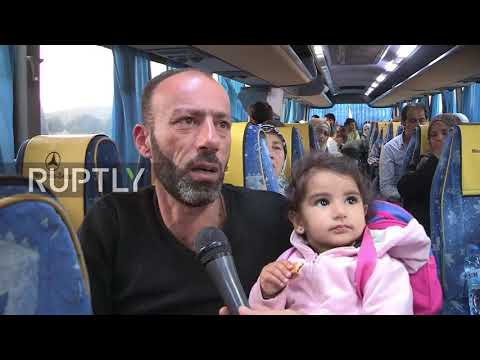 Syria: 500 refugees return home to Beit Jann from Lebanese exile