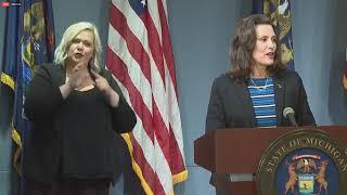 Governor Whitmer Addresses Senate Majority Leaders Comments