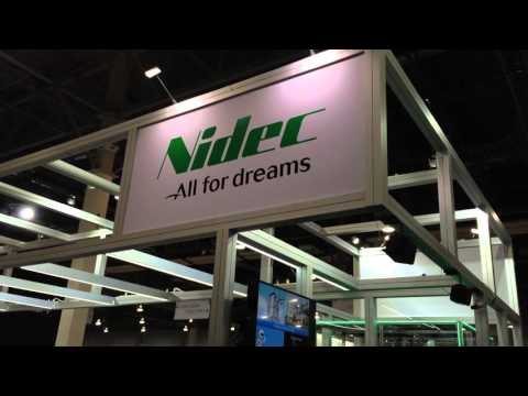 Nidec booth at CES 2016