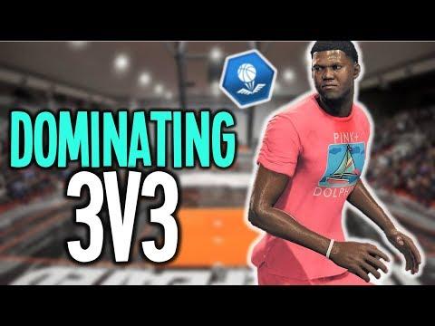 74 OVERALL WING SCORER DOMINATING 3v3 - NBA Live 18
