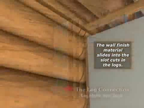видео: Перегородки в деревянном доме