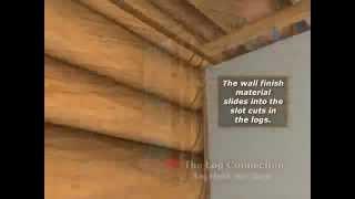 Перегородки в деревянном доме(Усадка деревянных домов. Устройство перегородок в срубах. Строительство деревянных домов http://green-woods.com.ua., 2011-05-18T09:32:02.000Z)