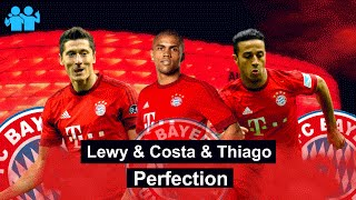 Lewandowski & costa & thiago - perfection - best skills, goals & assists | bayern munichen | 2016