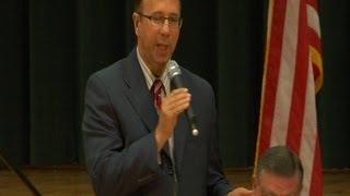 Senator Joe Griffo's Education Town Hall Meeting at Westmoreland HS, with Senator John Flanagan