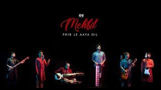 Phir Le Aya Dil ( Unplugged ) || Keys and Blacks Mehfil by Adarsh Rao