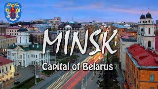 MINSK | Capital of Belarus | Drone [4K]
