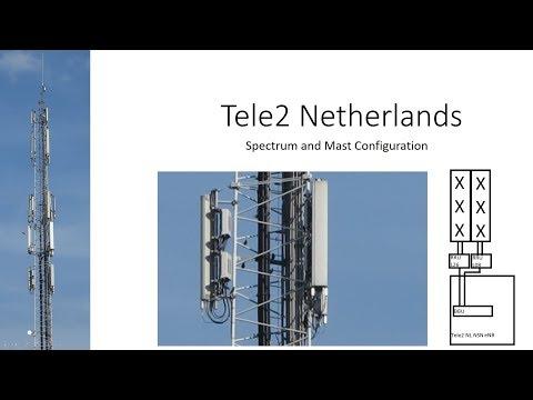 Tele2 Netherlands 4G Network Mast Guide