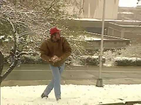 From The Vault: Snowball fights on Halloween weekend in Cincinnati in 1993