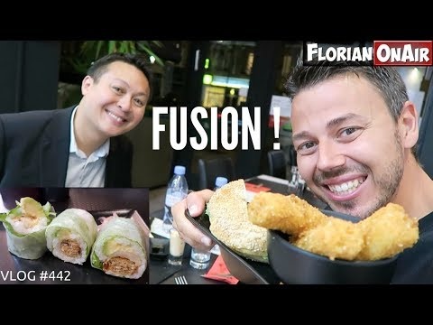 Download Youtube: Un resto FUSION JAPONAIS/U.S ?? - VLOG #442